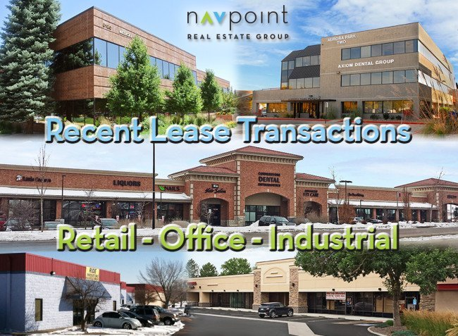 NavPoint Real Estate Group Executes Lease Transactions Across Metro Denver