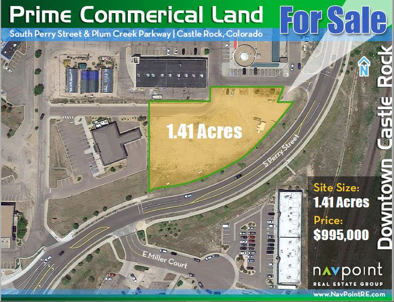 NavPoint Real Estate Group's sells 1.41 Acres of Land in Castle Rock for $975,000
